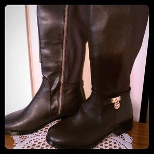 Like new Michael Kors Brown Riding Boots-size 7